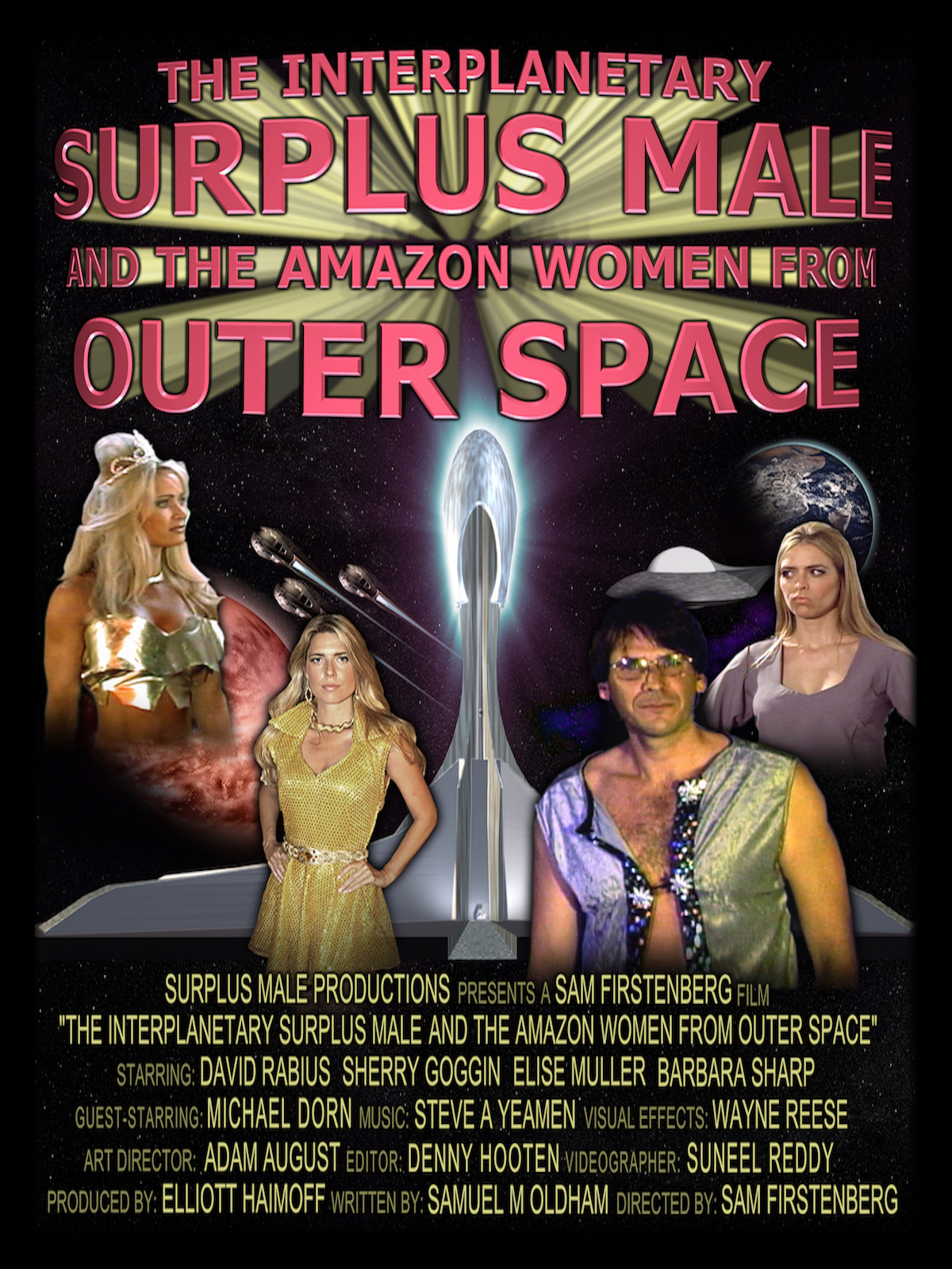 The Interplanetary Surplus Male and the Amazon Women From Outer Space