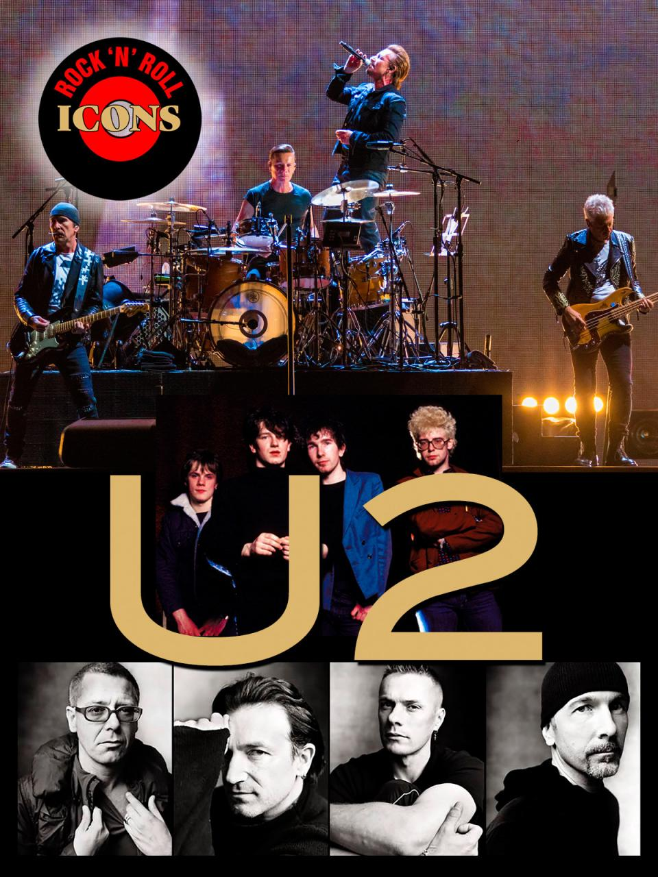Rock 'n Roll Icons: U2
