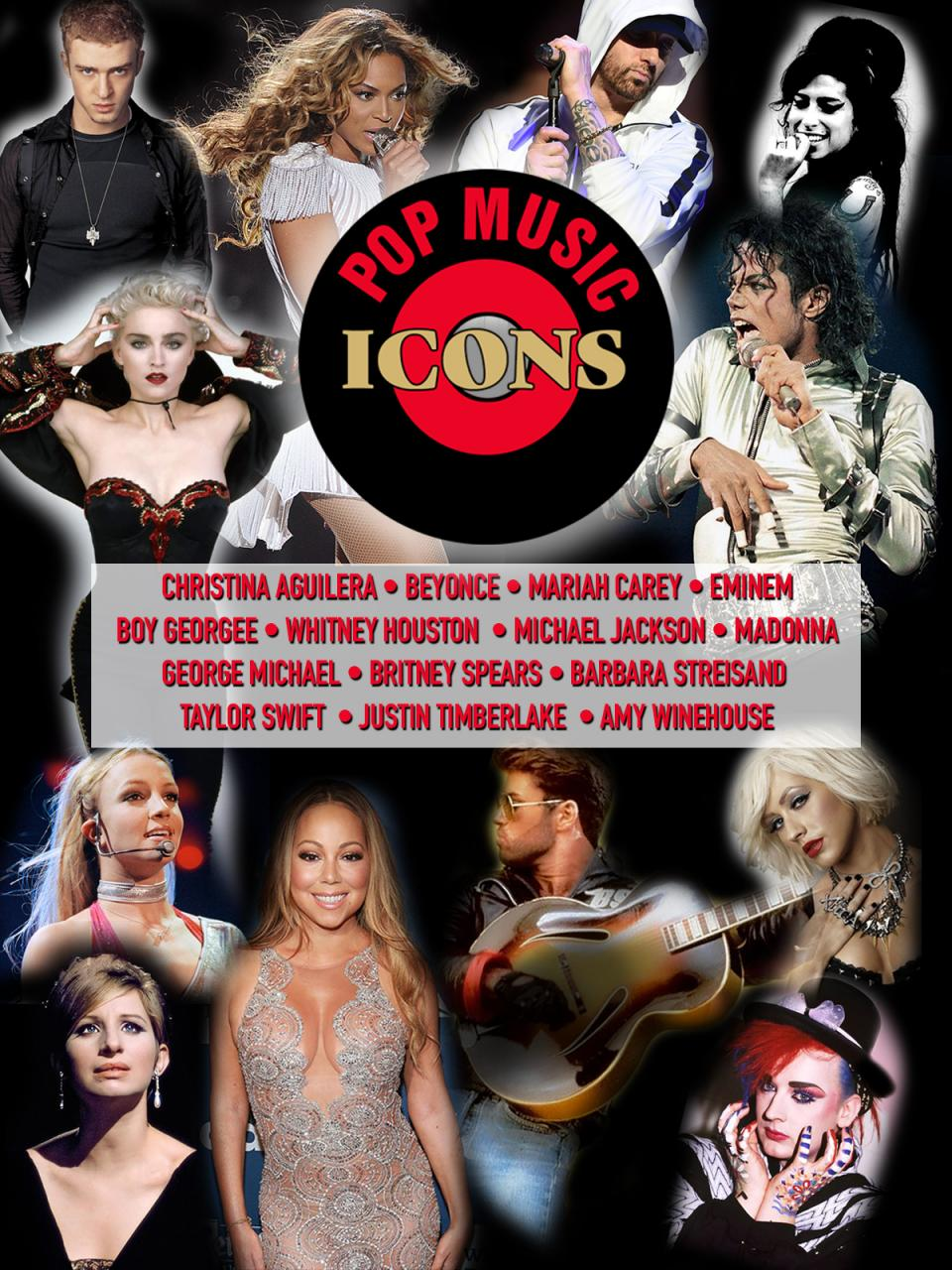 Pop Music Icons